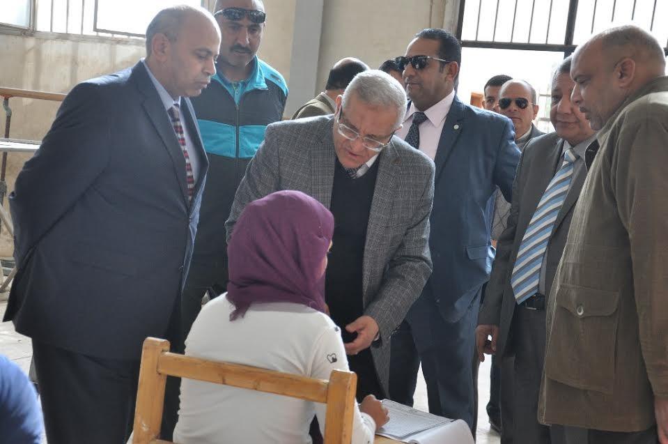 ضبط 25 حالة في امتحانات جامعة المنيا
