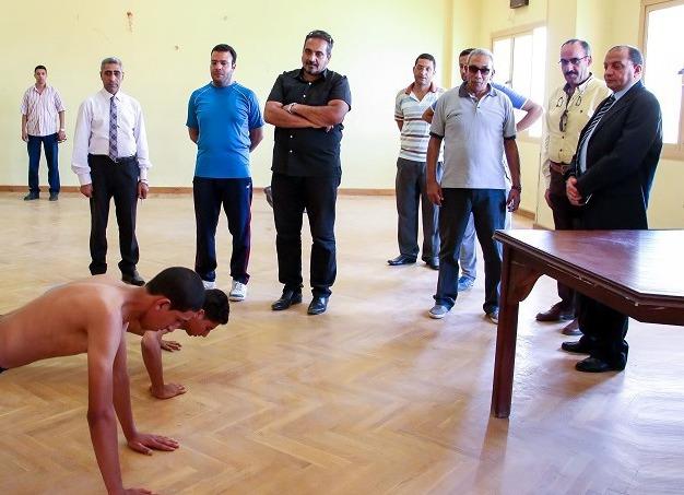1591 طالبا يتقدمون لاختبارات القدرات بجامعة بني سويف