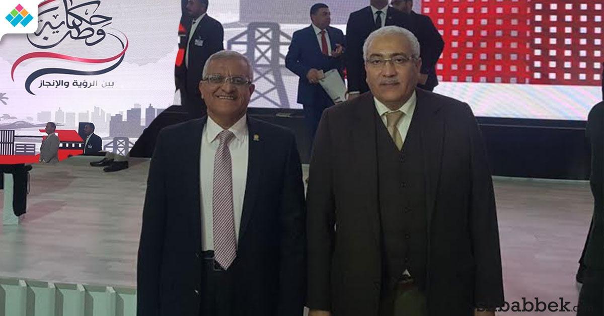 رئيس جامعة مدينة السادات يشارك في فعاليات مؤتمر «حكاية وطن»