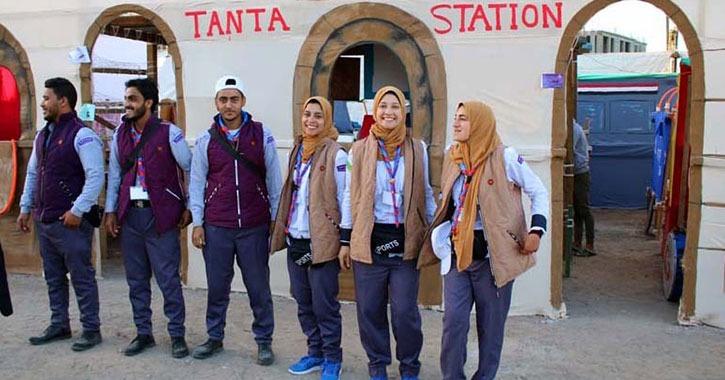 جوائز جامعة طنطا في منافسات اليوم الثاني بأسبوع شباب الجامعات
