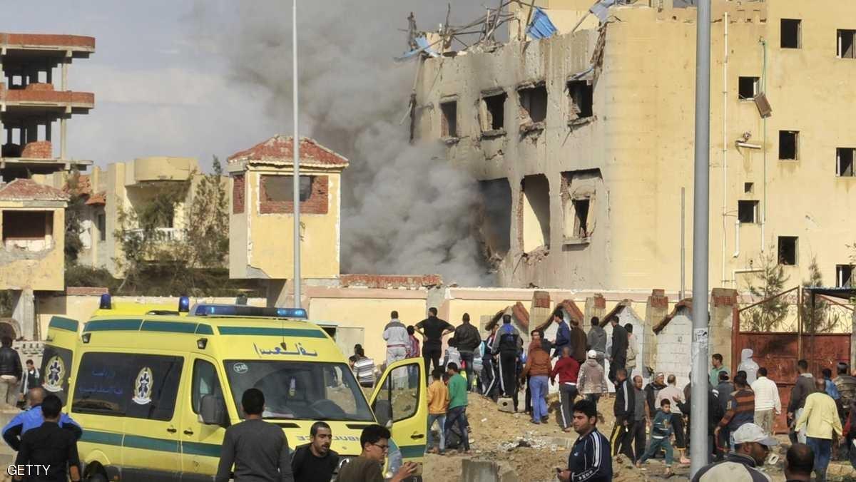 85 قتيلا في هجوم على مسجد بشمال سيناء