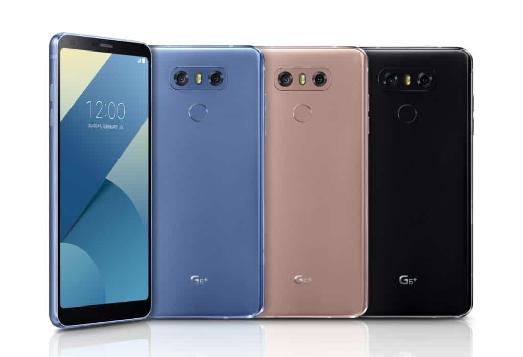 بذاكرة 128 جيجا.. «إل جي» تعلن عن هاتفها الجديد LG G6+