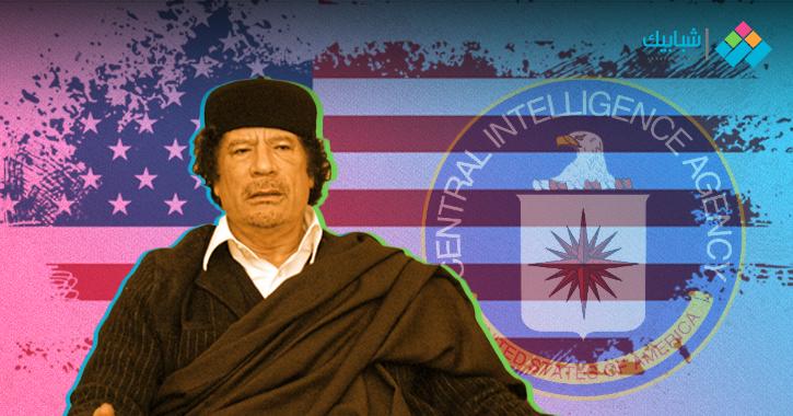 القذافي في مذكرات المخابرات الأمريكية.. متهم باغتيال السادات ومباراة منعته من إعلان حدث مهم