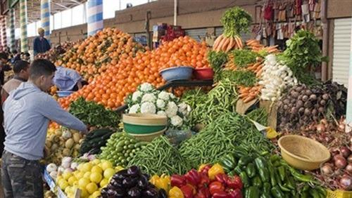 أسعار الخضروات والسمك والفواكه في سوق العبور
