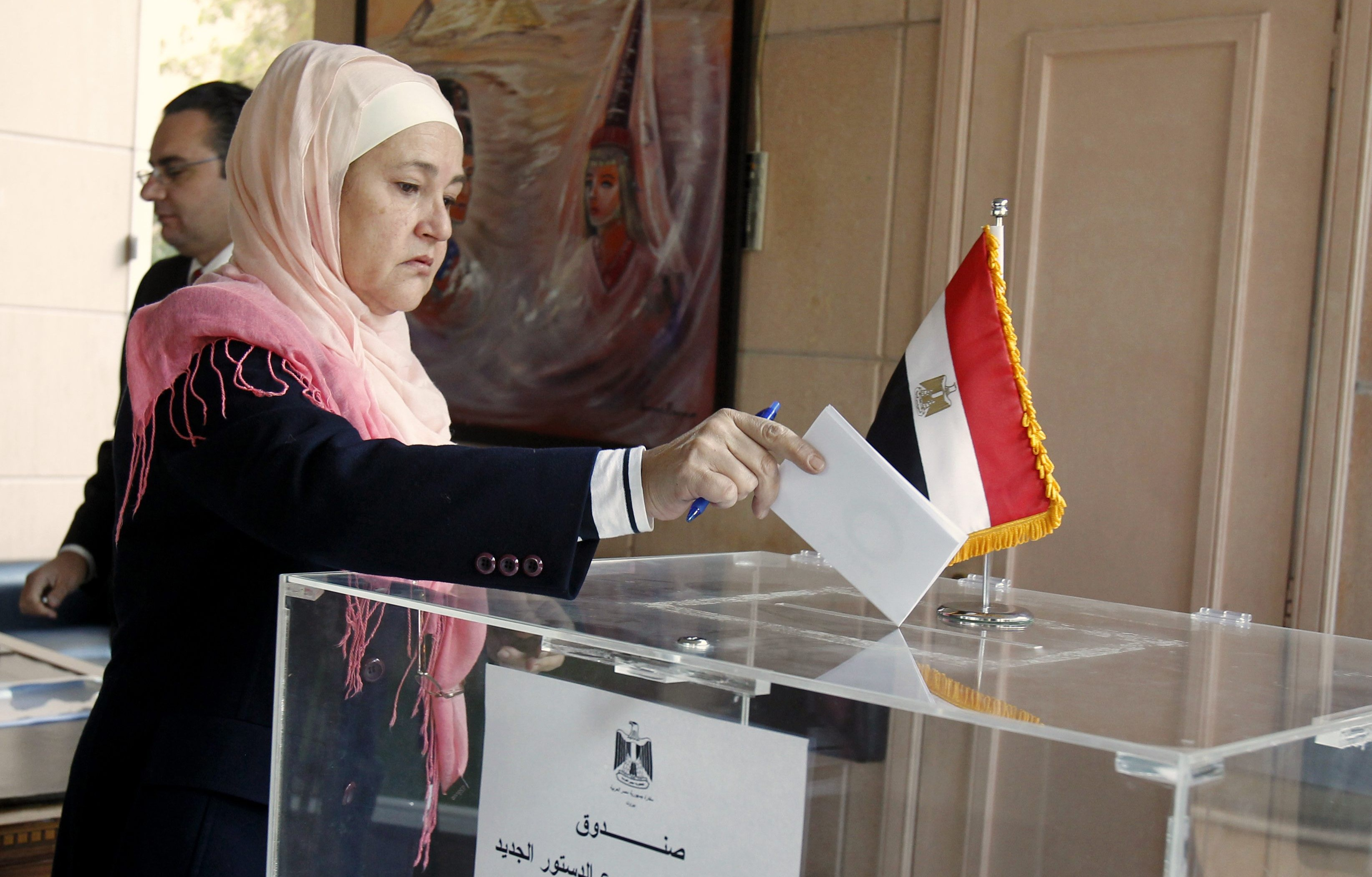 «المصريين بالخارج»: الإقبال على الاستفتاء في الكويت فاق التوقعات (فيديو)