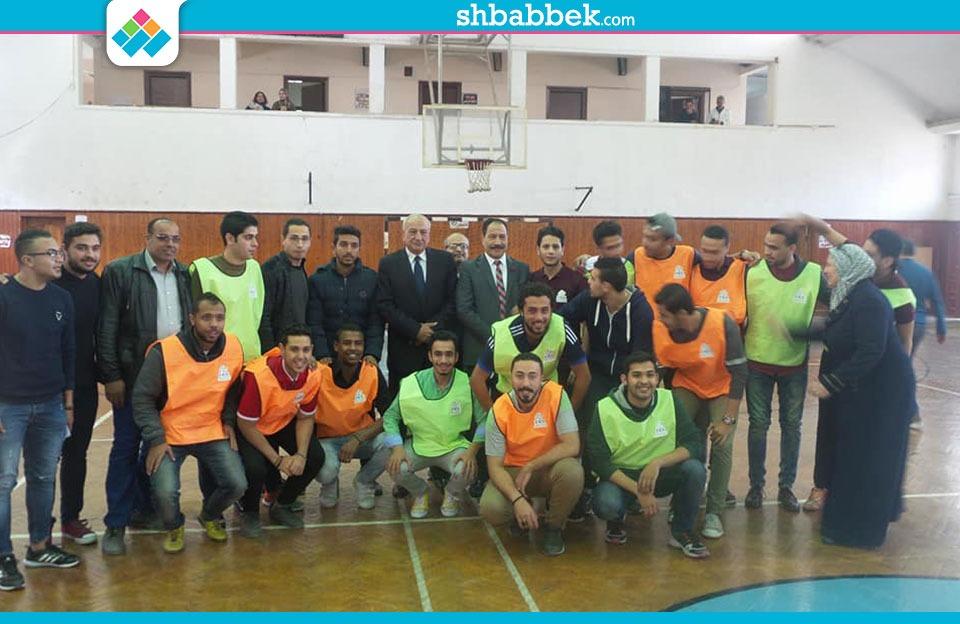 انطلاق فاعليات كأس الأسر الطلابية بجامعة عين شمس «صور»