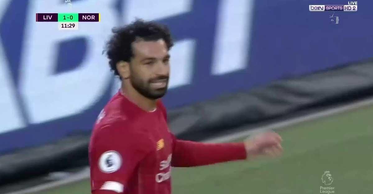 شاهد أول أهداف محمد صلاح في الدوري الإنجليزي 2019 2020 أمام