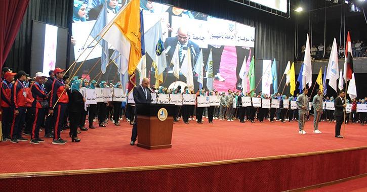 انطلاق حفل افتتاح أسبوع شباب الجامعات المصرية بكفر الشيخ