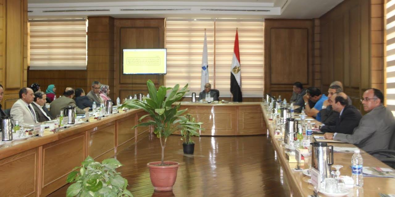 بروتوكول تعاون بين جامعة كفر الشيخ ووحدة مناهضة التحرش