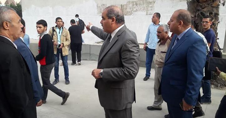 «المحرصاوي» يتفقد بوابات الدخول والخروج في جامعة الأزهر