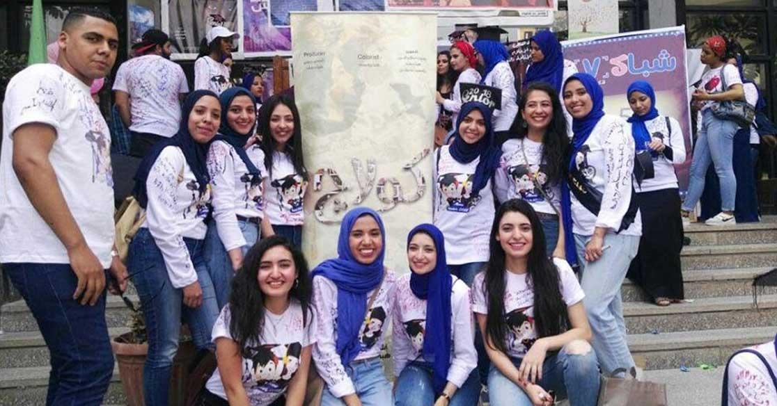 «دعوة لتقبل الاختلاف».. مشروع تخرج طلاب بإعلام القاهرة