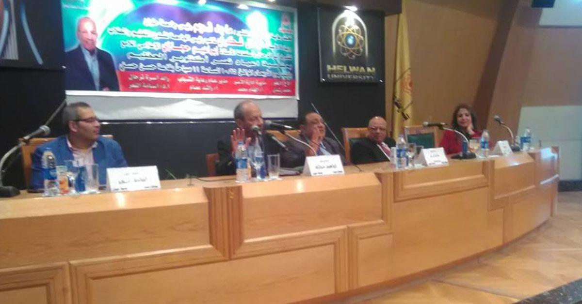 إبراهيم حجازي يطالب بزرع أشجار مثمرة بجامعة حلوان ويعلن حملة اتبرع بـ«خمسة جنيه»
