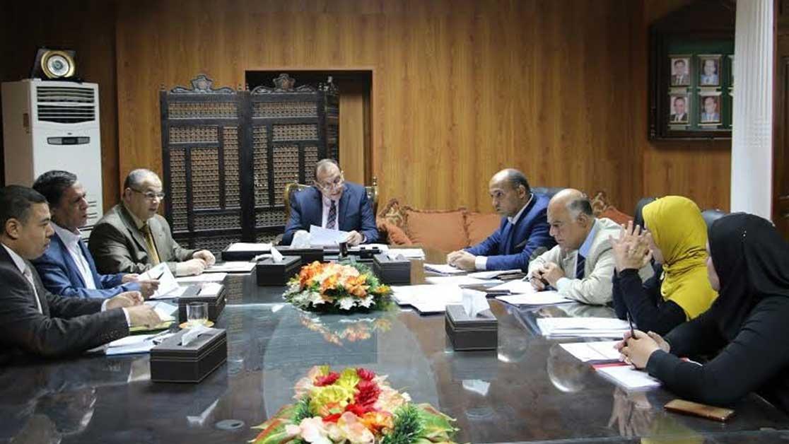 رئيس جامعة بنى سويف: ميكنة الأعمال الإدارية بدار الضيافة