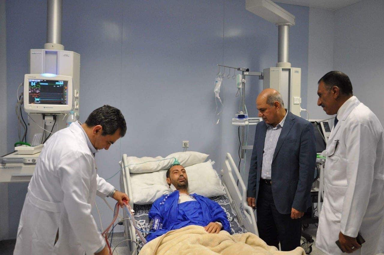 رئيس جامعة كفرالشيخ يتفقد قوائم انتظار المرضى بالمستشفى الجامعي