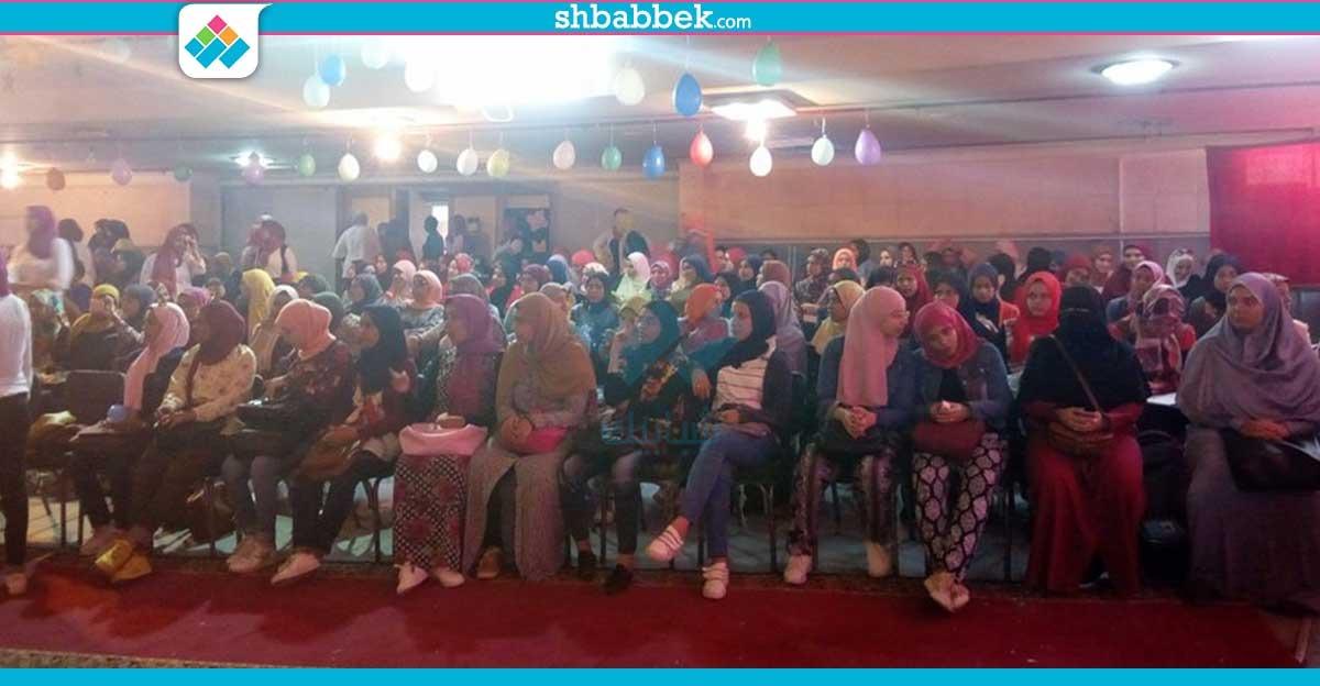 صور| فقرات فنية ومسرحية في حفل استقبال طالبات كلية البنات جامعة عين شمس
