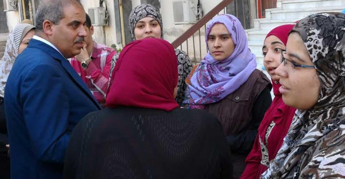 رئيس جامعة الأزهر يتفقد المدينة الجامعية للطالبات: «نبذل قصارى جهدنا من أجلكم»