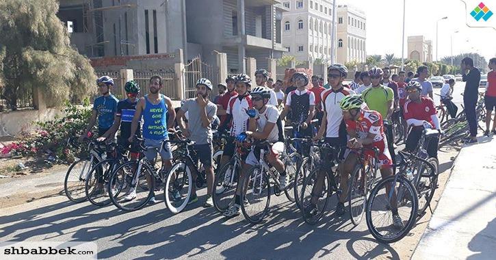 وزارة التعليم العالي تنظم سباق للدراجات بمشاركة  26 معهد عالي