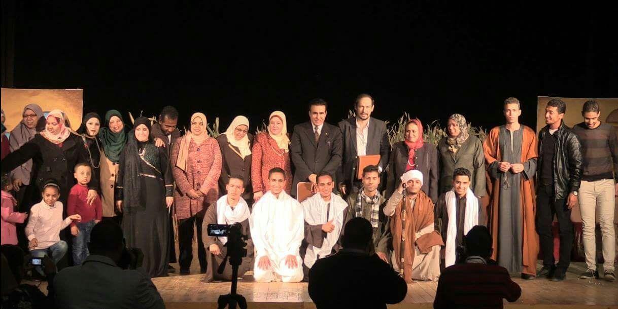 انطلاق مهرجان «تياترو» للعروض المسرحية بجامعة سوهاج (صور)