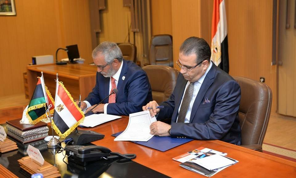 بروتوكول تعاون بين جامعة المنصورة والجامعة الليبية الدولية للعلوم الطبية ببنغازي