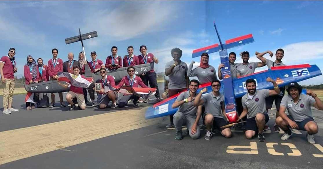 طلاب بجامعة الإسكندرية يفوزون بالمركز الأول في مسابقة عالمية لتصميم الطائرات.. التفاصيل والعقبات