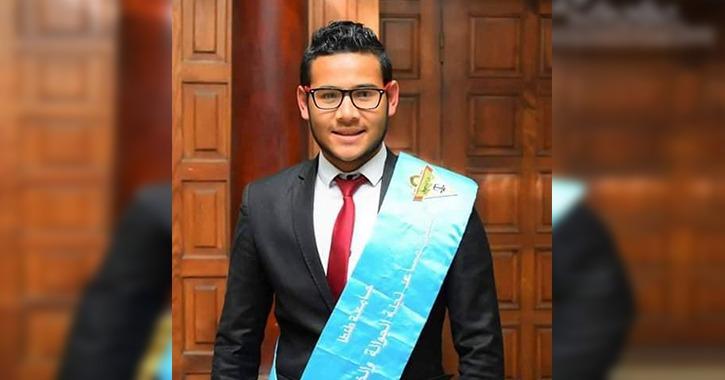 محمد الحو رئيسا لاتحاد طلاب كلية الحقوق جامعة طنطا