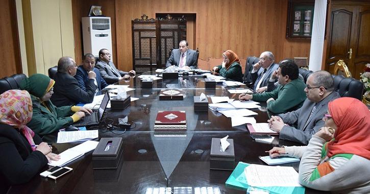 4 قرارات من رئيس جامعة بني سويف متعلقة بأعضاء هيئة التدريس
