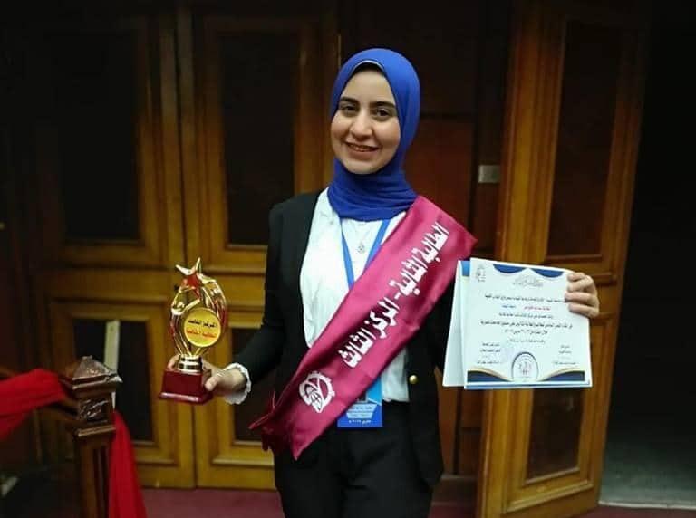 جامعة النهضة تحصد المركز الثالث في مسابقة الطالبة المثالية على مستوى الجامعات
