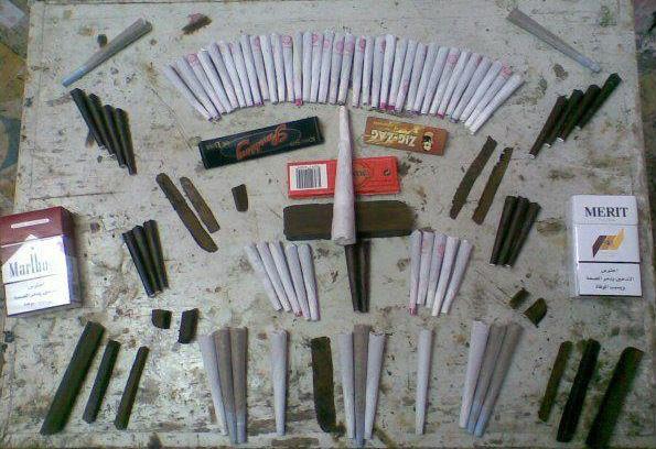 سجائر حشيش