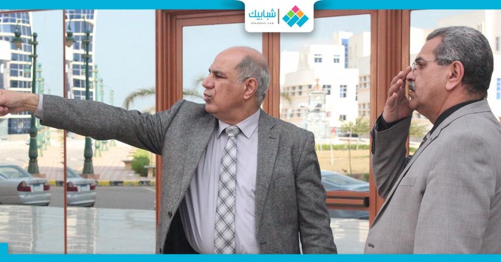 رئيس جامعة كفر الشيخ 2