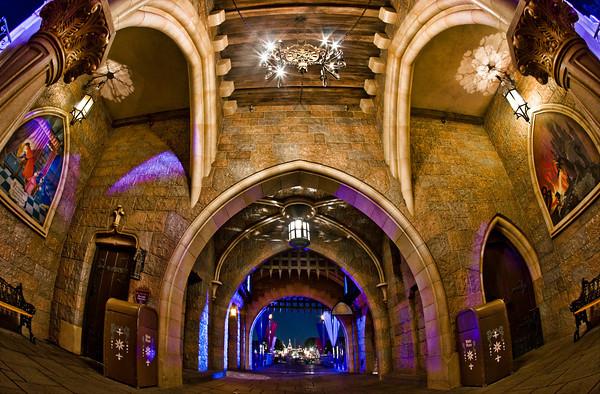 قصر ديزني من الداخل 2